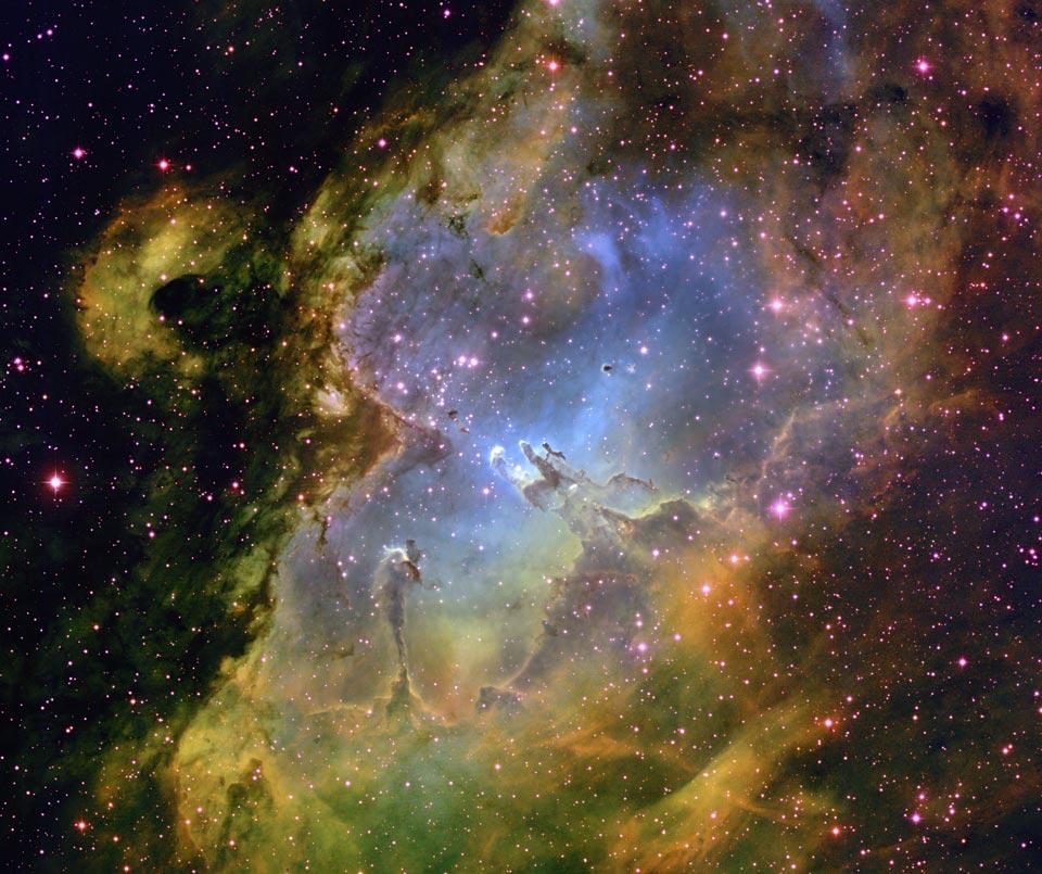 Nebula Elang Dari Puncak Kitt