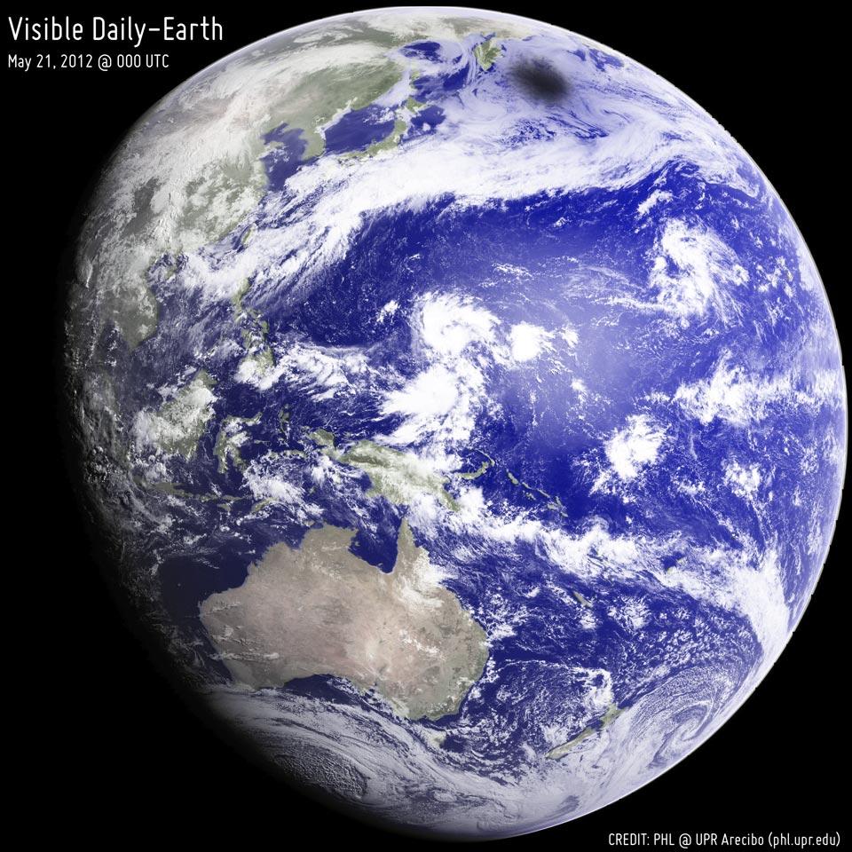Melihat Kembali pada gerhana Bumi