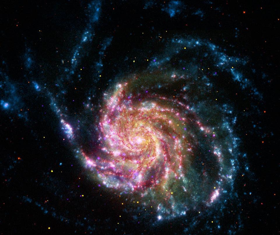 Galaksi M101 Abad 21
