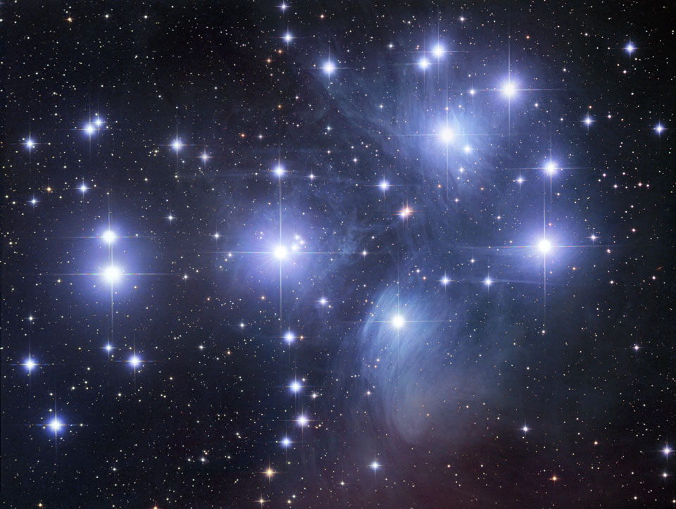 M45: The Pleiades Bintang Cluster