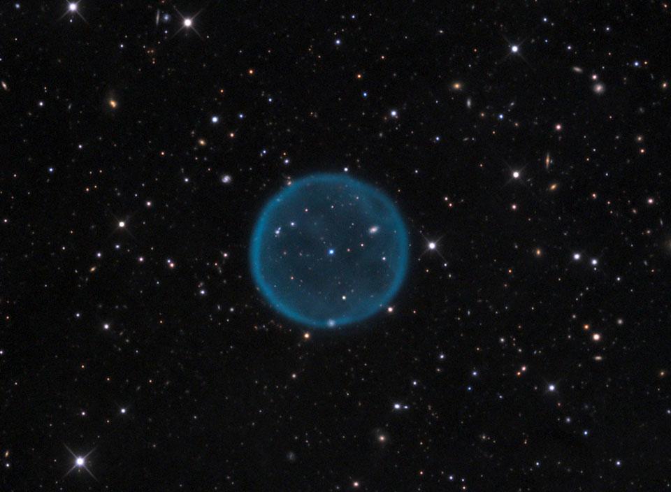 Nebula Planet Bulat Abell 39