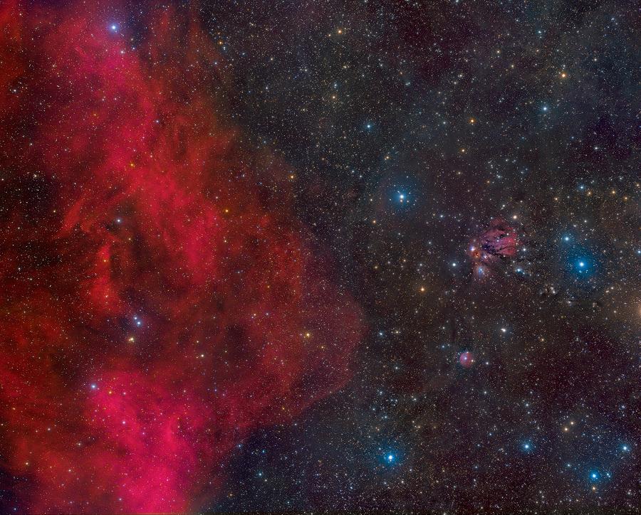 Barnard Melihat ke Arah NGC 2170