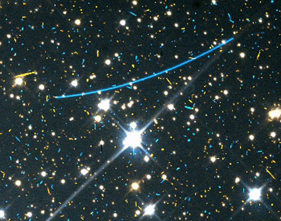 Asteroid di Kejauhan