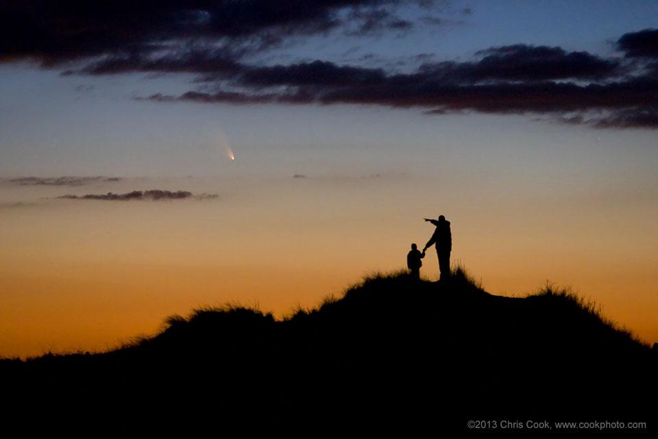 Komet PANSTARRS Hanya Setelah Sunset