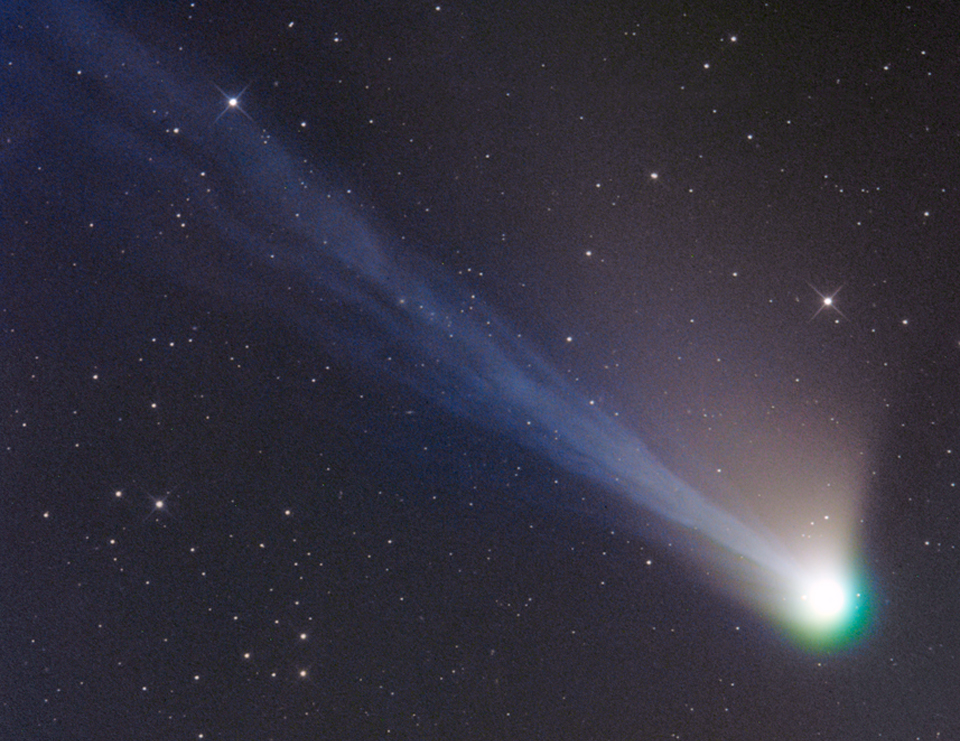 Ekor Komet Lemmon