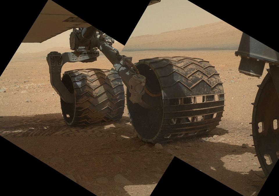 Curiosity: Roda di Mars