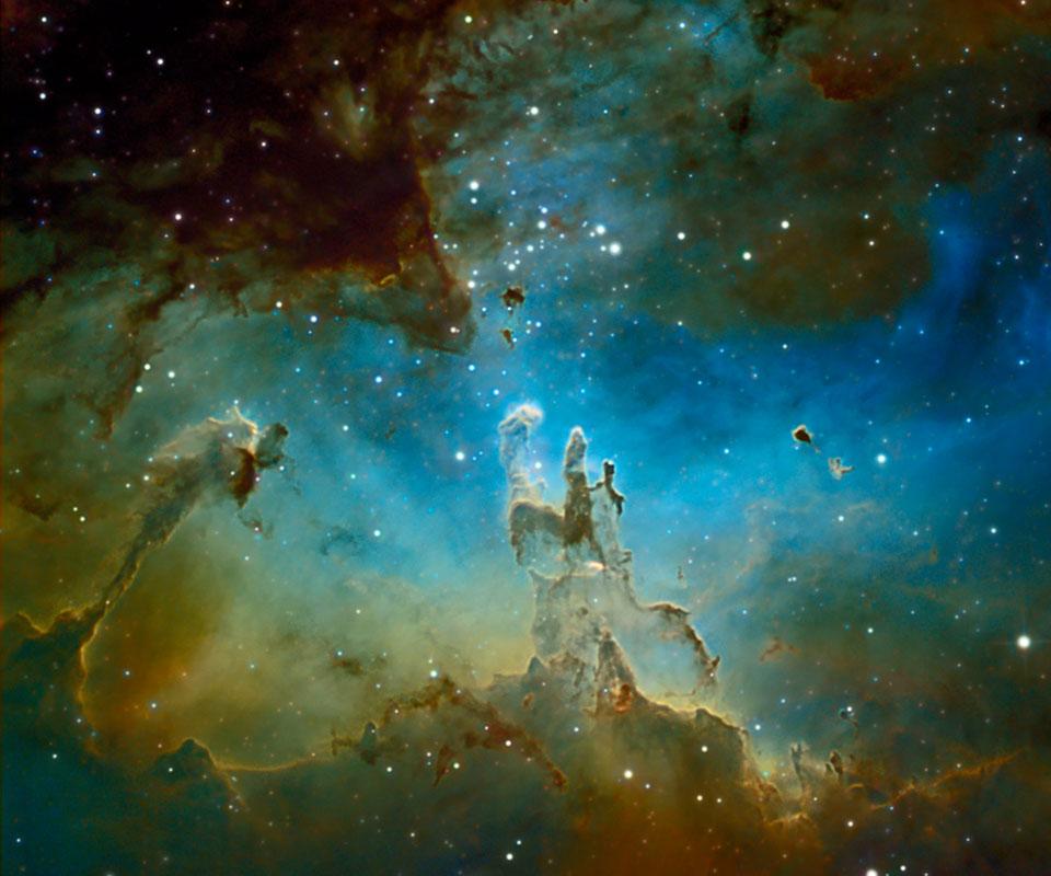 Pilar Dari Kastil Nebula Eagle