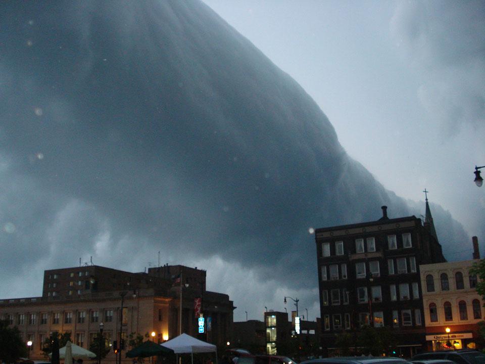 Gulung Cloud Selama Wisconsin