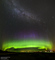 2014 September 09: An Aurora Cupcake with a Milky Way Topping