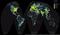 The New World Atlas of Artificial Sky Brightness