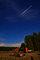 Perseid meteors rained on