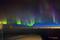 Asiento de ventanilla sobre la bahía de Hudson