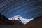 Mount Everest Star Trails