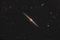 NGC 4565: galaxia de lado