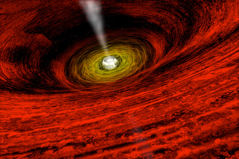 name of biggest black hole - photo #11