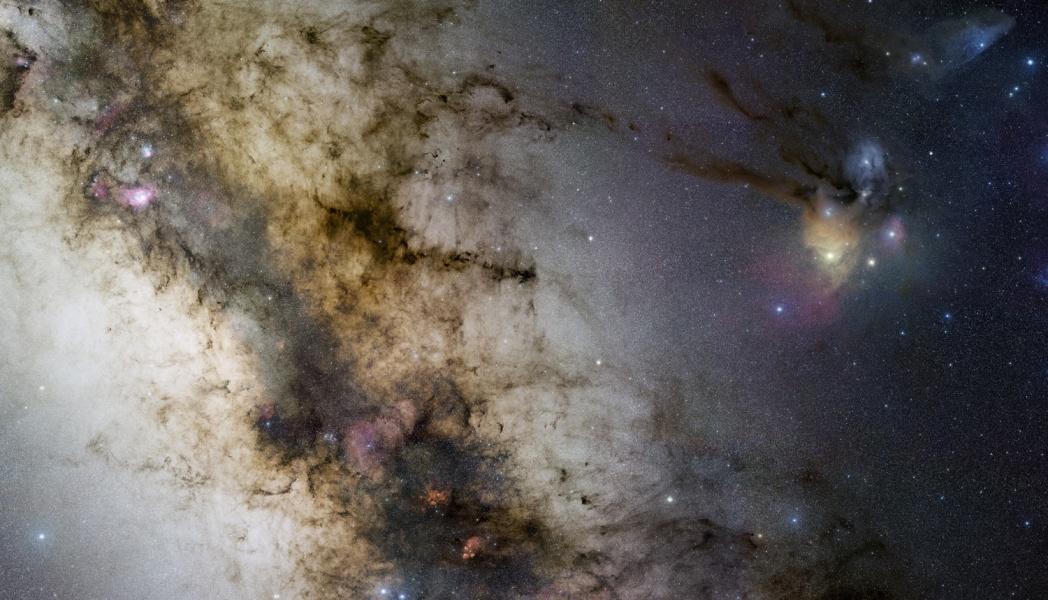 بزرگنمایی گیگی کهکشان: مرکز کهکشانی