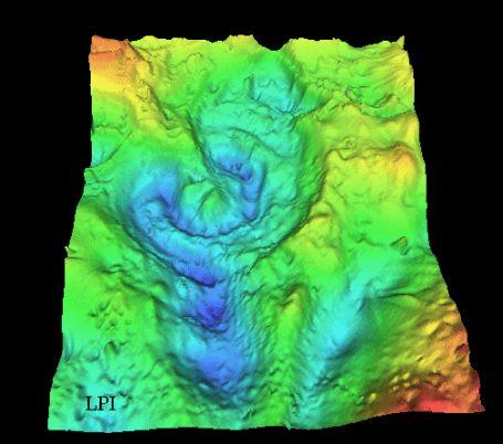 Imapcto hace 65 millones de años