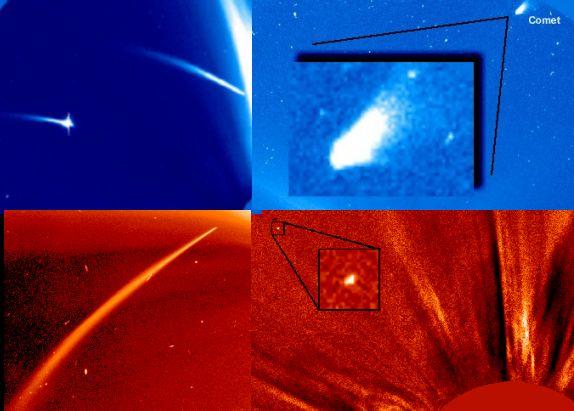 Los cometas del SOHO