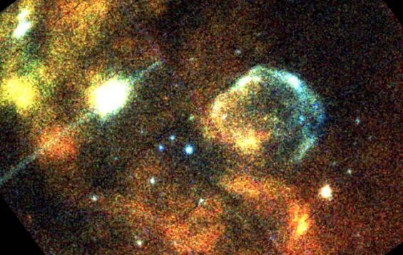 Primera luz del observatorio XMM-Newton de Rayos X con la GNM