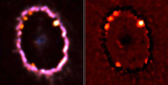 Nuevos hallazgos en Supernova 1987A