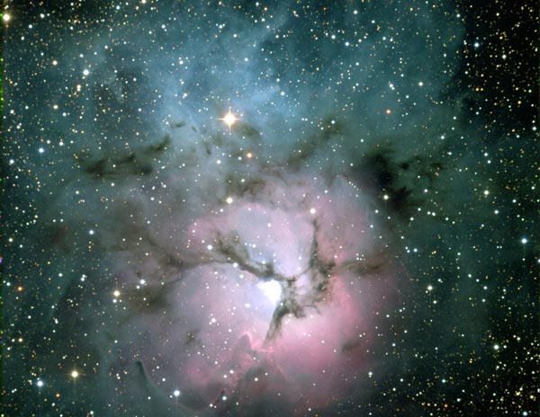 いて座の散光星雲M20