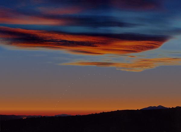 Mercurio sobre el horizonte