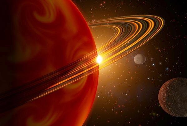 Descubiertos mundos del tamaño de Saturno