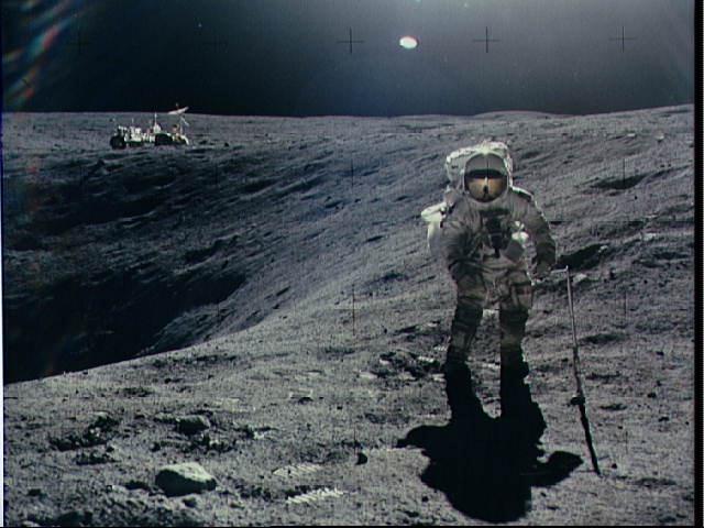 nasa first moon landing fake - photo #29