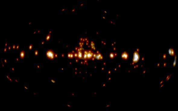 Un misterio en rayos gamma