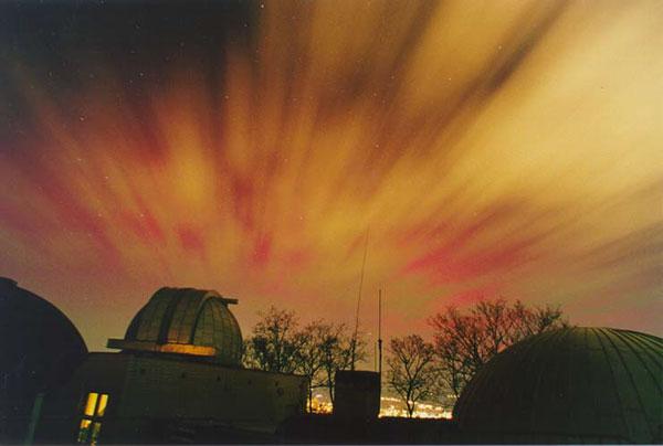 Aurora en Rojo y Amarillo