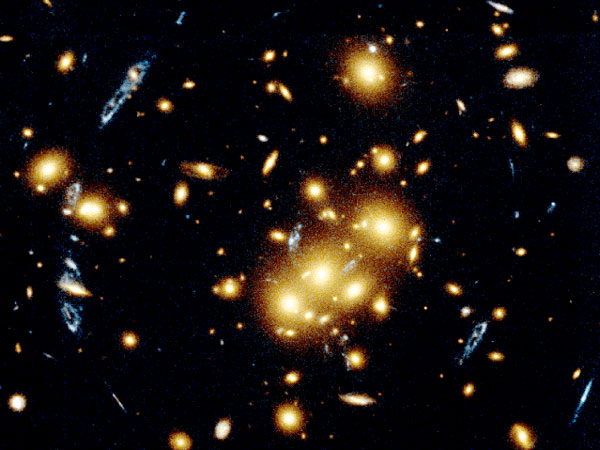 Giant Cluster curvas, saltos de Imágenes