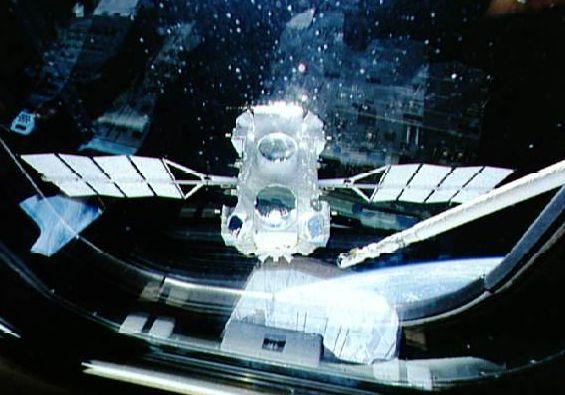 El Observatorio Compton en órbita