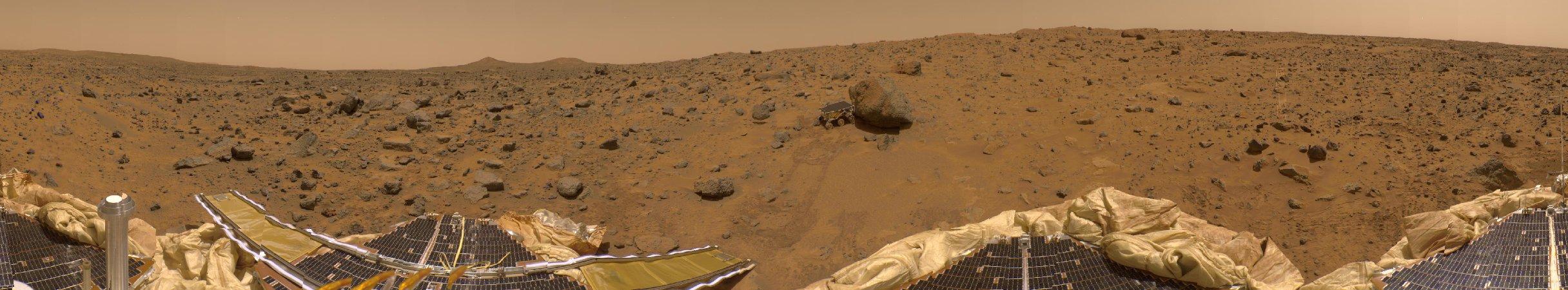 Un Panorama Presidencial de Marte
