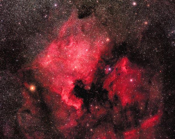 La Nebulosa Norteamérica