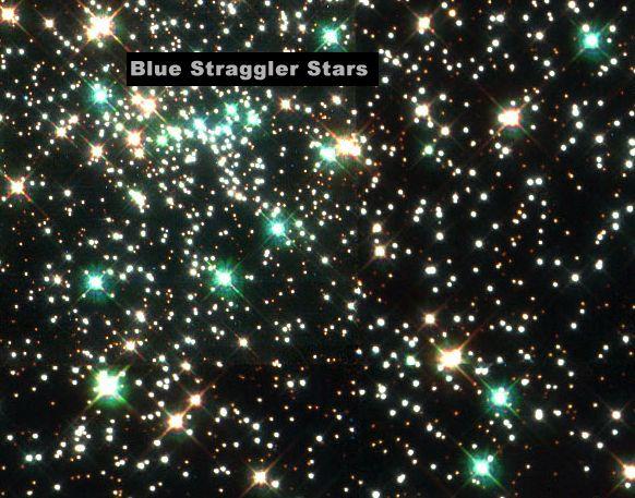 Azul rezagados En NGC 6397