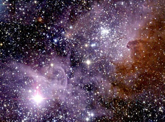 La nebulosa Carina en Infrarojo