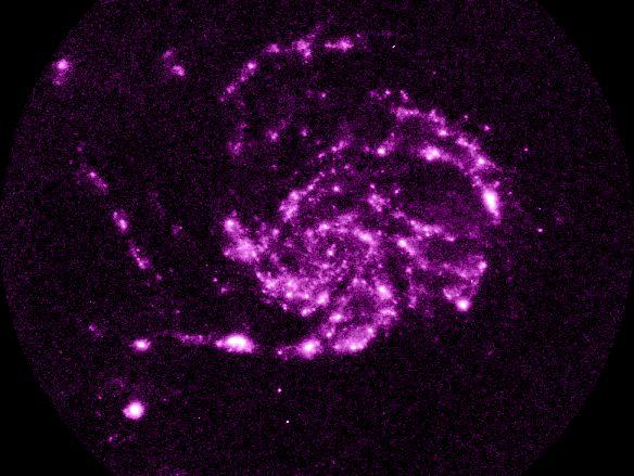 M101: Un vistazo en el Ultravioleta