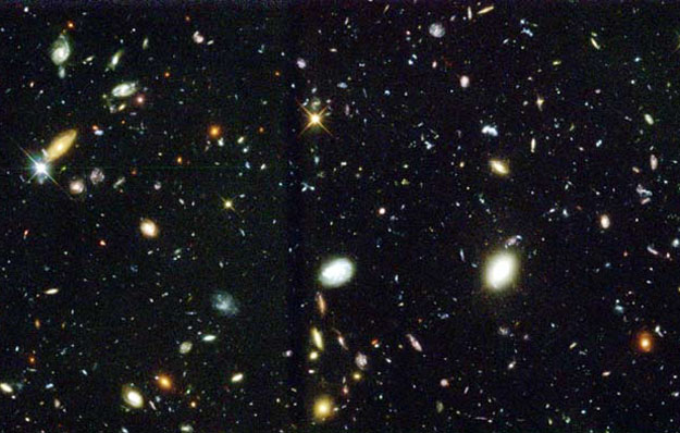 APOD: 2002 September 1 - The Hubble Deep Field