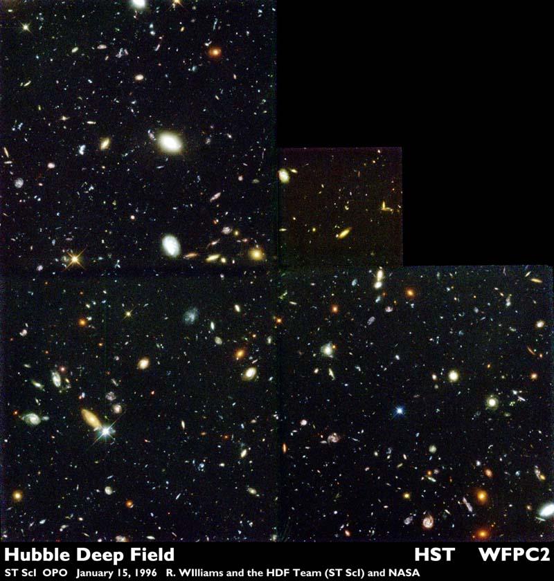APOD: 2000 July 9 - The Hubble Deep Field
