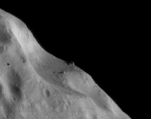 Cráteres y Rocas en Eros