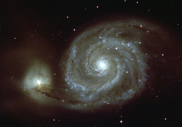 M51: La Galaxia del Remolino