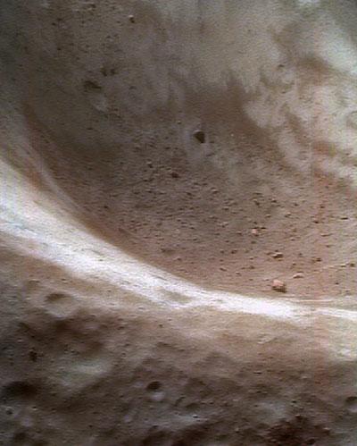 El regolito del asteroide Eros
