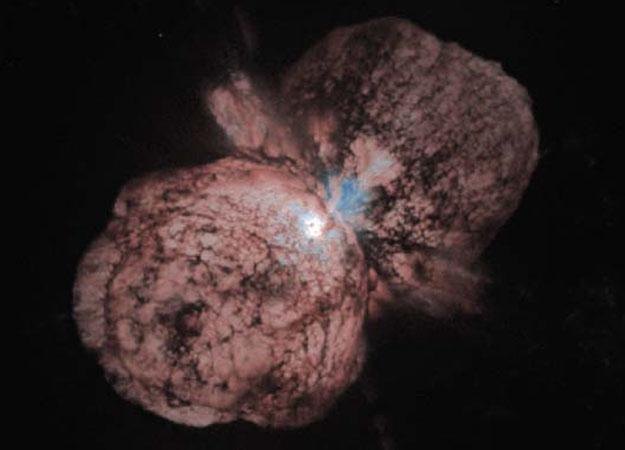 Doomed Star Eta Carinae