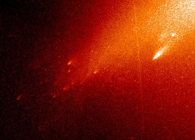 El cometa LINEAR se dispersa
