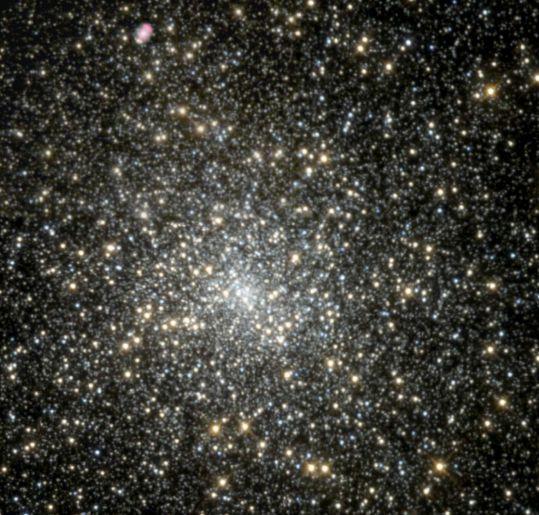 ペガスス座の球状星団M15
