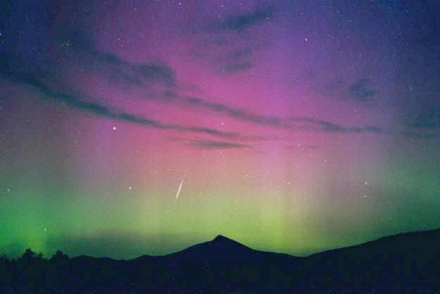 A Perseid Aurora