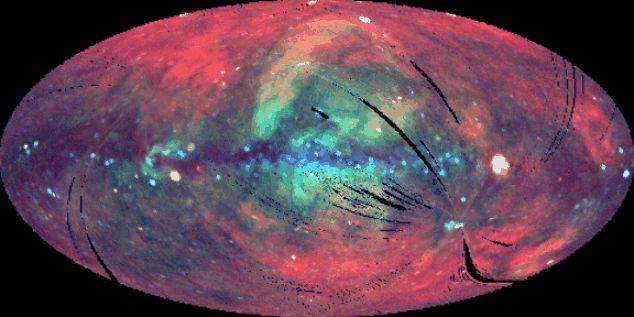 ROSAT zkoumá rentgenovou oblohu