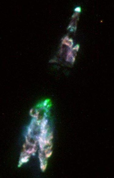 La nebulosa planetaria emergente CRL 618