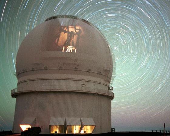 Estelas de estrellas del CFHT