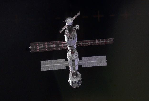 Aproximándose a la Estación Orbital Internacional